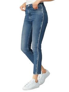 Details zu Pepe Jeans London Damen Jeans Hose Paspelstreifen Streifen 824541