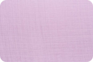 Shannon-Fabrics-Embrace-Double-Gauze-Lilac-Solid-by-the-yard-amp-custom-cuts