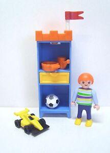 Details Zu Playmobil Junge Mit Spielzeug Und Kinderzimmer Schrank 8