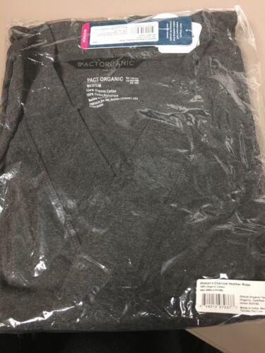 pact organic grey robes Size M