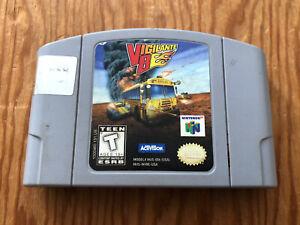 Vigilante-8-Nintendo-64-N64-Game-Cartridge-Cart-Authentic-TESTED-Racing-Works