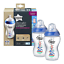 Tommee-Tippee-Closer-to-Nature-150ml-260ml-340ml-Decorated-Bottles-Blue-Pink thumbnail 14