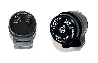 KR LED Blinker-Relais Blinkrelais APEX ATU Adly Moto Aeon Aprilia Arctic Atala