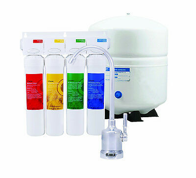 Watts Premier Drinking Water Treatment/filtration 4-Stage Reverse Osmosis System