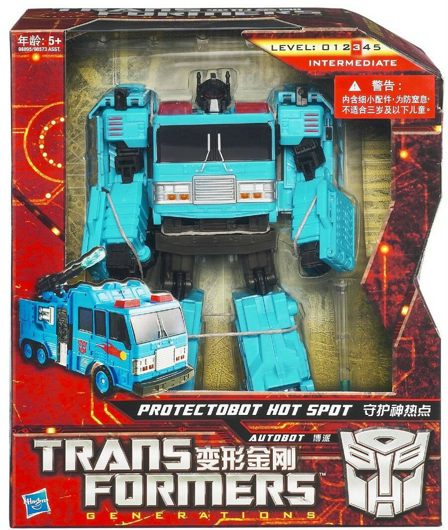 TRANSFORMERS Generations_PredECTOBOT HOT SPOT figure_VoyagerClass_Asia Exclusive