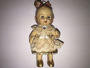 Vintage Babydoll Christmas Ornament Decoration Katherines