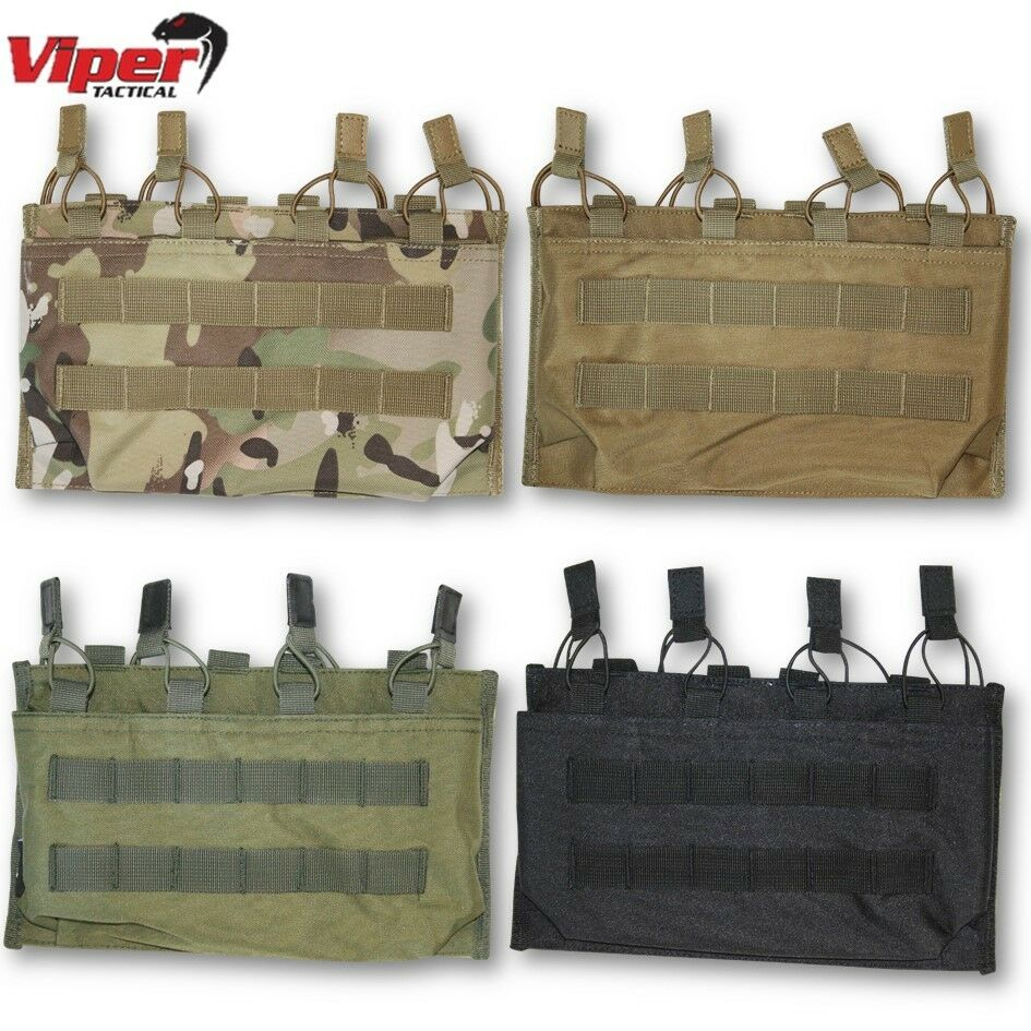 VIPER QUAD  MAG SLEEVE MAGAZINE MOLLE AMMO WEBBING POUCH PAINTBALL AIRSOFT ARMY  order online