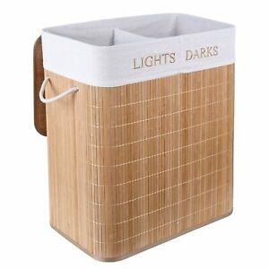 Bamboo Laundry Basket 100l Large
