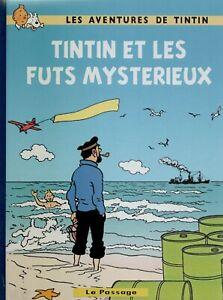 PASTICHE-Tintin-et-les-futs-mysterieux-Album-cartonne-32-pages-couleurs-HC