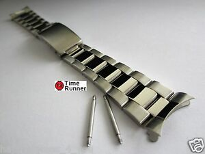Image Is Loading Oyster Style Solid Stainless Steel Men S Watch