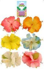 Hawaiian Hula Lei Hibiscus Pastel Flor Hairclip Disfraz Vestido De Lujo