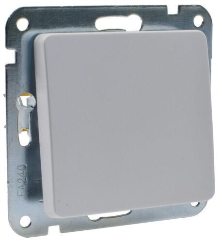 Lichtschalter matt weiß Taster Rahmen .. CAT6 MILOS Steckdose USB-Ladedose