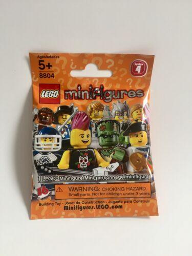 Pick Choose LEGO Minifigure Series 4 #8804 NEW SEALED
