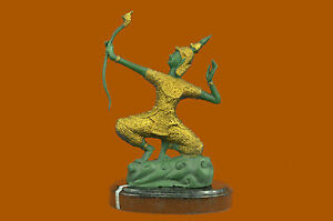 CHINESE PANDA GILT Handcrafted Decor Art Hot Bronze Sculpture Statue Figurine NR