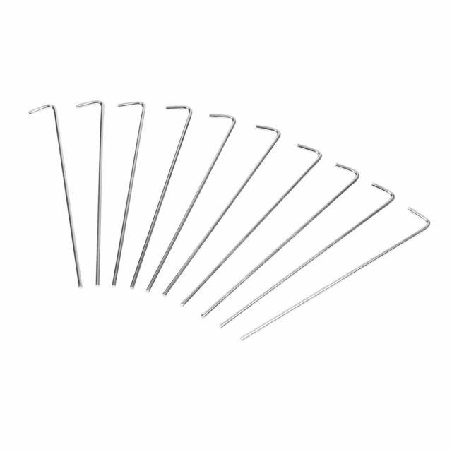 Plastic Royal Groundsheet Pegs 10pk by Gelert