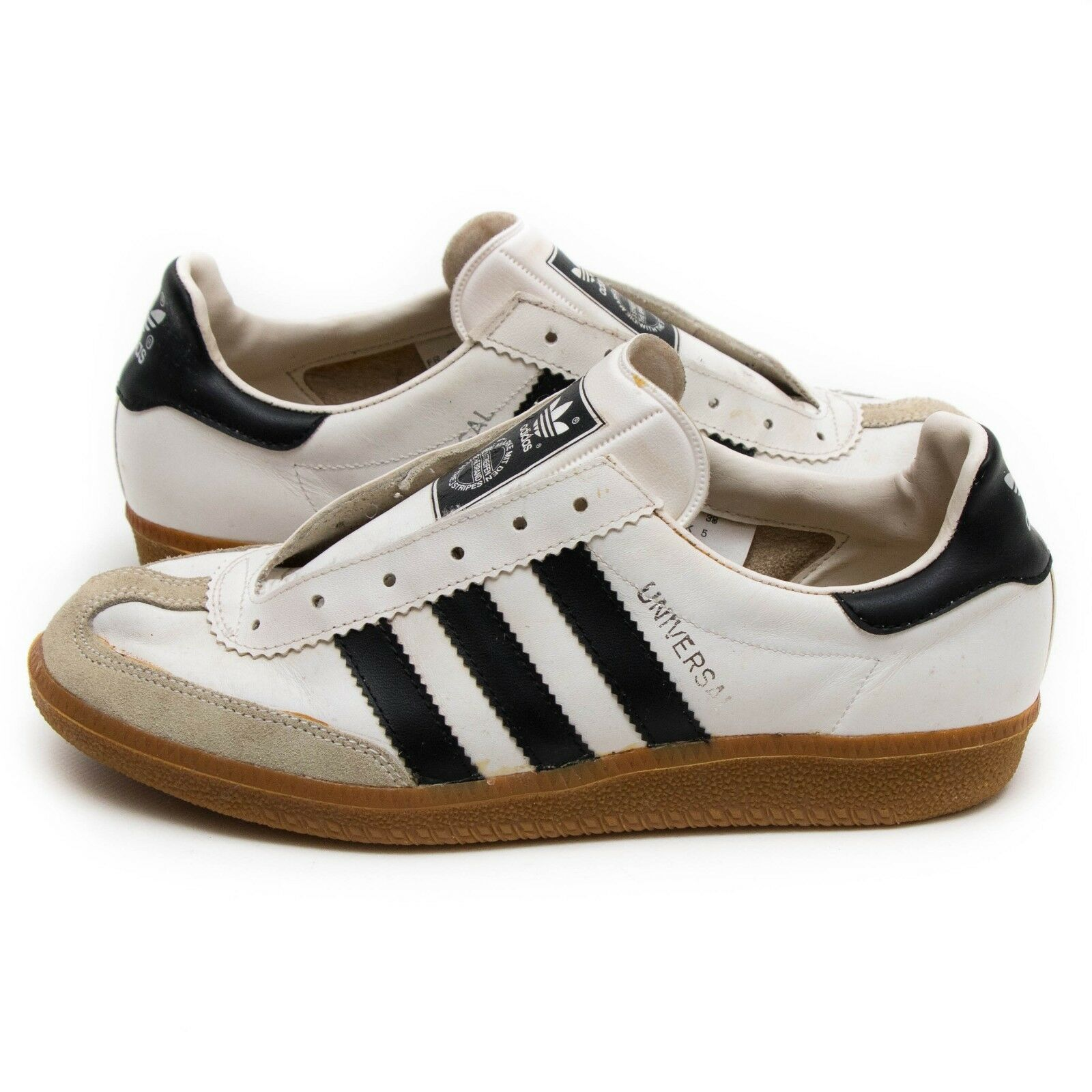 VINTAGE ADIDAS UNIVERSAL Sneakers Turnschuhe Trainers Gr 42