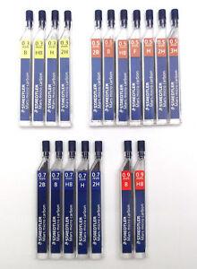 STAEDTLER Mars Micro Carbon 250 Mechanical Pencil Lead 0.3 0.5 0.7 0.9 mm