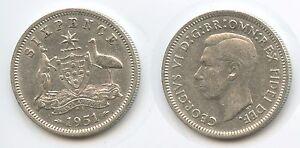 G3132 - Australien Six Pence 1951 PL KM#45 Silber George VI. Australia - Großgmain, Österreich - Widerrufsbelehrung: Widerrufsrecht Sie haben das Recht, binnen eines Monats ohne Angabe von Gründen diesen Vertrag zu widerrufen. Die Widerrufsfrist beträgt vierzehn Tage ab dem Tag, an dem Sie oder ein von Ihnen benannter Drit - Großgmain, Österreich