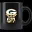 Green-Bay-PACKERS-Baby-Yoda-Star-Wars-Cute-Yoda-PACKERS-Funny-Yoda-Coffee-Mug miniature 1