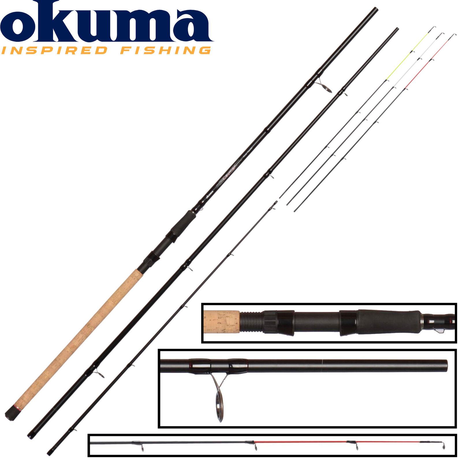 Okuma Ceymar Feeder 3,90m 40-80g Angelrute zum Feederangeln, Karpfenrute