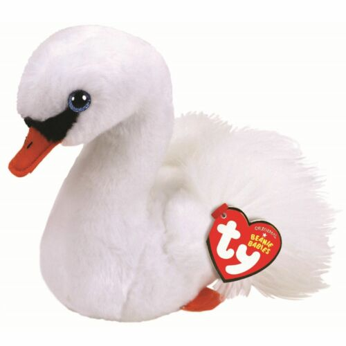 TY BEANIE BABIES BOOS GRACIE SWAN PLUSH SOFT TOY NEW WITH TAG