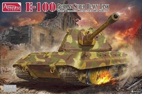 Amusing-Hobby-35A015-1-35-German-E-100-Super-Heavy-Tank