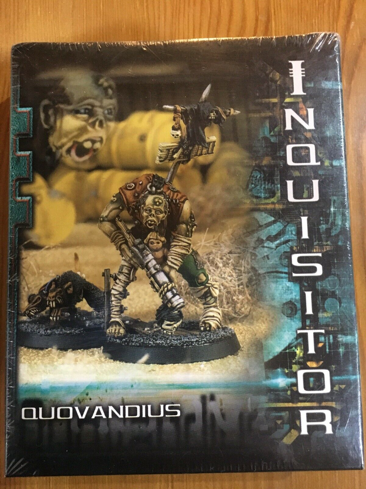 Inquisitore 54mm quovandius NUOVO SIGILLATO WARHAMMER 40k metallo fuori catalogo