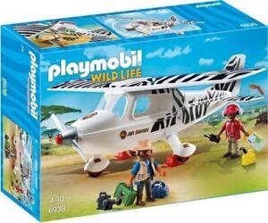 PLAYMOBIL 6938 Playmobil 6938 Avión Safari (Wild Life). NUEVO EN CAJA.