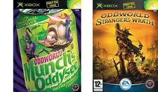 Oddworld - Munch's Oddysee & Oddworld Strangers Wrath ORIGINAL XBOX