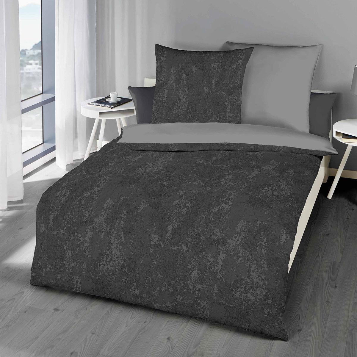 Kaeppel Biber Bettwäsche Texture Texture Texture 2 X 80x80 1 X