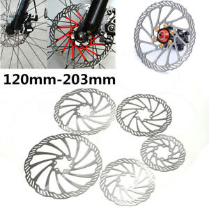 120-203mm-FRENO-BRAKE-DISCO-BICICLETTA-MTB-BICI-DISCHI-DISC-BRAKE-ROTORE-ROTOR