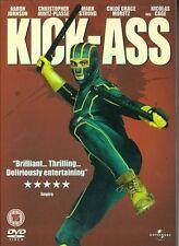 KICK ASS DVD (2010) superhero IMAGE COMICS Mark Millar John Romita Marvel DC