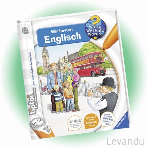 RAVENSBURGER tiptoi® Buch - Wieso Weshalb Warum? - Wir lernen Englisch - NEU