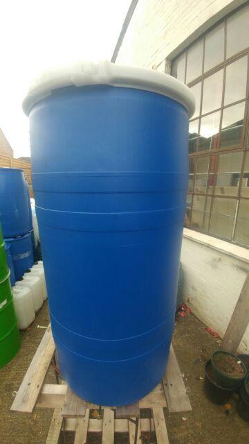 150l Litre Open Top Plastic Barrel Keg Drum Water Butt Storage