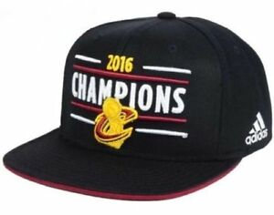 6ab5e8a38cd Image is loading Cleveland-Cavaliers-Cavs-adidas-2016-NBA-Champions- Adjustable-