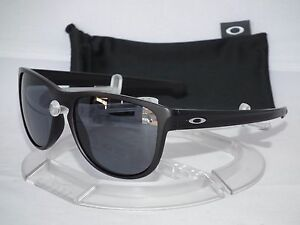 48c9b919af9 NEW OAKLEY SLIVER R ROUND SUNGLASSES OO9342-01 Matte Black   Grey