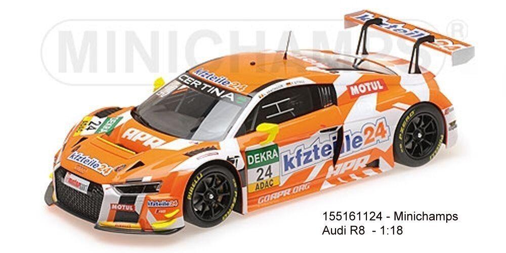 Minichamps 155161124-AUDI r8 LMS – KFZTEILE 24/apr Motorsport – vanthoor/Stoll