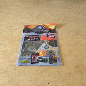 PANINI-JURASSIC-WORLD-FALLEN-KINGDOM-ALBUM-STICKER-STARTER-PACK-DINOSAUR-MOVIE
