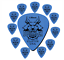 thumbnail 16 - Guitar Picks Clayton Duraplex Delrin Picks 12 Pack Choose Your Favorite Gauge