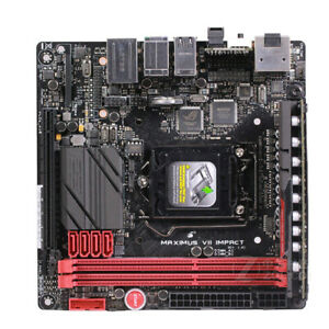 ASUS-MAXIMUS-VII-IMPACT-Motherboard-Intel-Z97-Lga-1150-Mini-ITX-DDR3-Usado