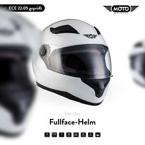 Casque-Integral-Jet-Scooter-ECE-Blanc-MOTO-Helmets-X86-Gloss-White-XS-S-M-L-XL