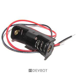 Support-1-Pile-12V-23A-MN21-avec-fils-Boitier-Coupleur-Batterie-DIY-Arduino