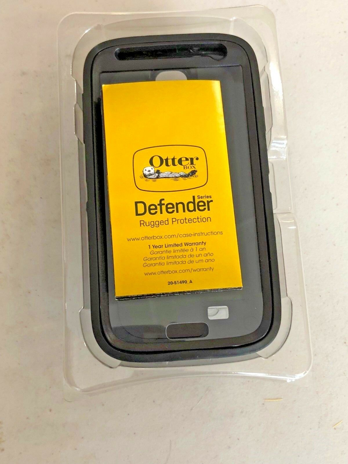 Otterbox Case Defender Nfl Series For Galaxy S4 Giants Ebay