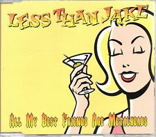 LESS THAN JAKE - METALHEADS - CD SINGLE - MINT