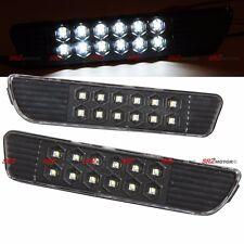 REAR BUMPER SMDx12 LED BLACK SIDE MARKER SIGNAL LIGHT FITS 05-09 FORD MUSTANG