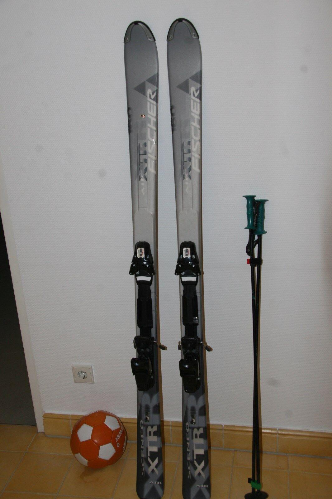 Carver 160 cm Ski FISCHER XTR sceneo AIR - TOP mit Service
