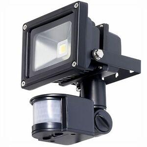 10w led low energy outdoor security flood light pir motion sensor image is loading 10w led low energy outdoor security flood light aloadofball Choice Image
