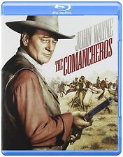 Blu Ray THE COMANCHEROS. John Wayne. UK compatible. New sealed.