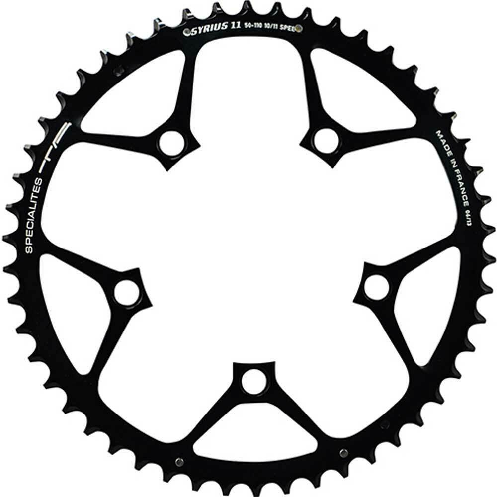 Specialites TA Kettenblatt Syrius 52 110mm aussen 10 11-f. schwarz Fahrrad