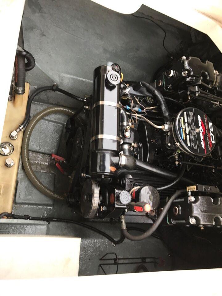 SeaRay 240 5,0 ferskvandskølet